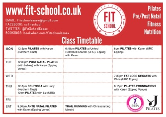 FitSchoolTimetable