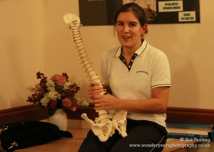 Physiotherapist Carolyn explains back health